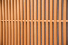 Деталь деревянного японского дома в Gion Стоковая Фотография RF