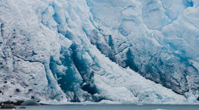 Деталь ледника ледника Perito Moreno ареальных Ландшафт Стоковое Изображение