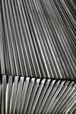 Деталь жалюзи металла архитектурноакустическая стоковое фото rf