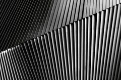 Деталь жалюзи металла архитектурноакустическая стоковые изображения