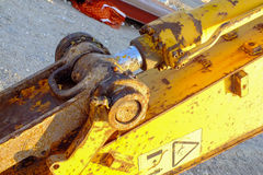 Деталь землекопа Стоковое фото RF