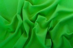 Деталь зеленой ткани мяты. Стоковая Фотография RF
