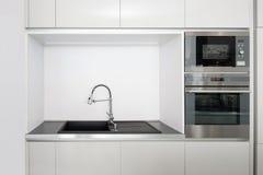 Деталь интерьера кухни Стоковое Изображение