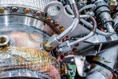 Деталь источника питания auxiliary газовой турбины Стоковые Фото