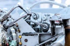 Деталь источника питания auxiliary газовой турбины Стоковые Фотографии RF
