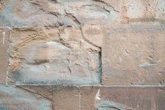 Деталь каменной стены Стоковая Фотография