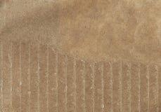 Деталь картона утиль картона старый Старая сорванная бумага картона Стоковое Изображение RF