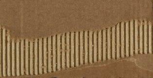 Деталь картона утиль картона старый Старая сорванная бумага картона Стоковые Изображения RF