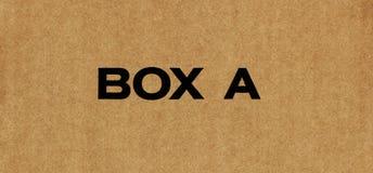 Деталь картона утиль картона старый Старая сорванная бумага картона Стоковое Изображение