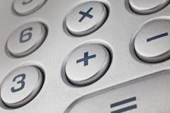 Деталь калькулятора Стоковое Фото