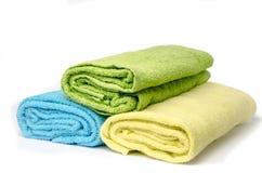 Деталь комнаты.  полотенца. Стоковые Фотографии RF