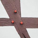 Деталь конструкции - работа тимберса Стоковое Изображение RF