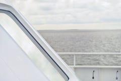 Деталь корабля в море Стоковые Фото