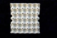 Деталь коробок яичка без яичек Стоковые Изображения RF