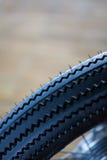 Деталь колеса мотоцикла стоковое фото