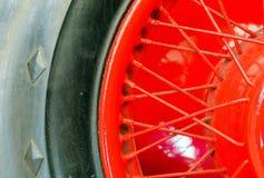 Деталь колес автомобиль Стоковая Фотография RF
