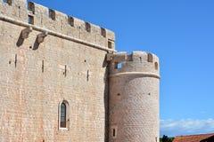 Деталь крепости церков Vrboska Стоковое Изображение