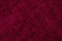 Деталь крупного плана красной ткани Стоковое Изображение RF
