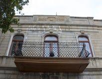 Деталь классического фасада Стоковые Изображения RF