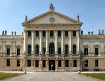 Деталь монументального входа виллы Pisani, Италии Стоковое Изображение RF
