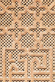Деталь морокканской двери Стоковое фото RF