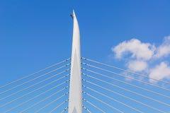 Деталь моста через золотой залив рожка, Стамбул Стоковые Изображения