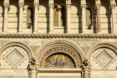 Деталь модели падая башни Piza.Europa, Стоковые Изображения