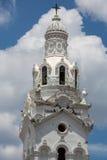 Деталь национального собора на площади большой, Кито Стоковое Изображение RF