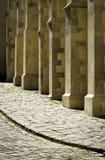 Деталь на каменных штендерах собора Стоковая Фотография