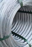 Деталь на крене провода металла Стоковые Изображения RF