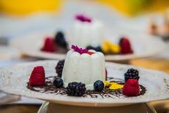 Деталь на специальном designe для еды на плите Стоковые Фото
