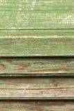 Деталь на старых деревянных штарках Стоковое Изображение RF
