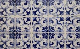 Деталь некоторых типичных португальских плиток стоковые фото