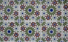 Деталь некоторых типичных португальских плиток стоковое фото rf