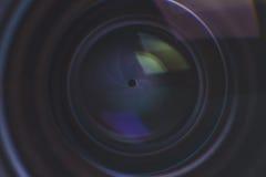 Деталь объектива фотоаппарата Стоковые Изображения RF