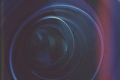 Деталь объектива фотоаппарата Стоковое Изображение RF