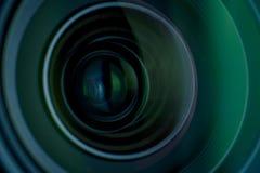 Деталь объектива фотоаппарата Стоковые Фотографии RF