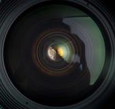 Деталь объектива фотоаппарата Стоковая Фотография RF