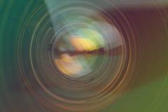 Деталь объектива фотоаппарата Стоковые Фото