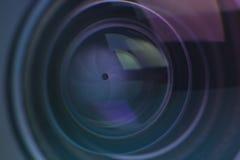 Деталь объектива фотоаппарата Стоковое фото RF
