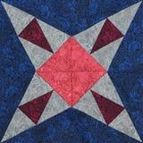Деталь лоскутного одеяла стоковые фотографии rf