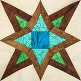 Деталь лоскутного одеяла стоковые изображения rf