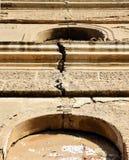 Деталь отказа на старой церков Стоковые Изображения RF