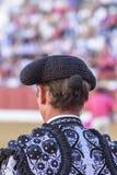Деталь отрезка провода, в столетии XIX bullfighters Стоковое Фото