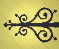 Деталь от двери церков Стоковое Изображение