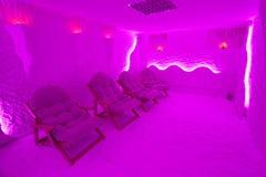 Деталь от красивой комнаты соли Стоковые Фотографии RF