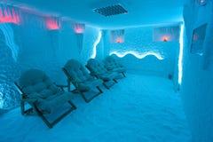 Деталь от красивой комнаты соли Стоковые Фото