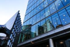 Деталь офисного здания стоковое изображение rf