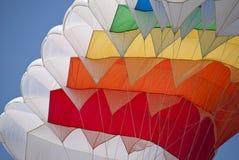 Деталь парашюта стоковые фотографии rf