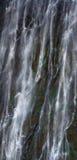 Деталь падая воды Victoria Falls Конец-вверх национальный парк Mosi-oa-Tunya и место всемирного наследия Zambiya Зимбабве Стоковые Изображения RF